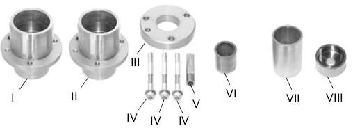 Comprehensive kit for removing & refiting Sprinter & VW LT35 ball joints wihout damage.